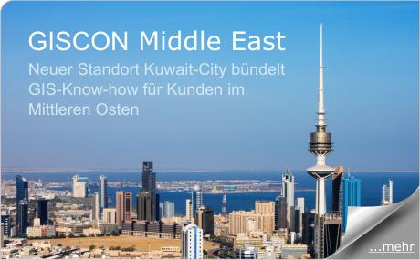 Neue GISCON Niederlassung Kuwait-City