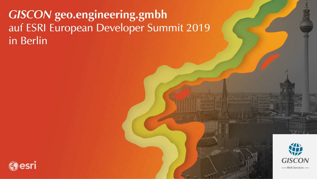 ESRI European Developer Summit 2019 in Berlin